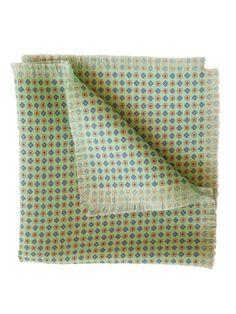 Elizabetta Mens Italian Silk Pocket Square Handkerchief Mint Green >>> Click on the image for additional details.