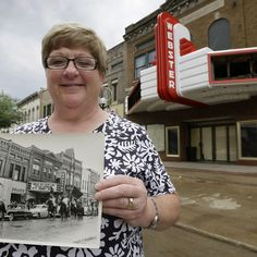 Small communities across the U.S. are working to save their historic movie theaters.
