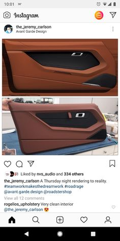 Ideas Custom Cars Interior For 2020 Custom Car Interior, Car Interior Design, Truck Interior, Interior Ideas, Car Interior Upholstery, Automotive Upholstery, Volkswagen, Pontiac Firebird, Pontiac Gto