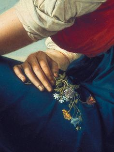 Portrait of Heinrike Dannecker by Gottlieb Schick, 1802 (detail)