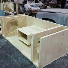 Custom Subwoofer Box, Subwoofer Box Design, Speaker Box Design, Custom Car Audio, Loudspeaker Enclosure, Car Audio Installation, Speaker Plans, Sub Box, Jl Audio