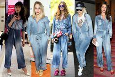 Todas las it-girls llevan el mismo mono denim de Fendi