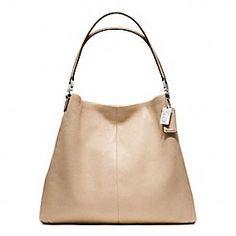Madison Leather Phoebe Shoulder Bag.. My new summer purse!! Gotta have it!!