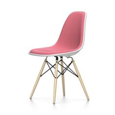 VITRA chaise rembourrage total Eames Plastic Side Chair DSW NOUVELLES DIMENSIONS