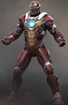 More Rad IRON MAN 3 Armor ConceptArt! - News - GeekTyrant