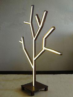 Sculpture arbre lumineux