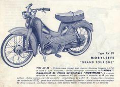 Du Solex de 1946 à la Mobylette AV89 de 1960 - ZSEFT- ZUNDAPP