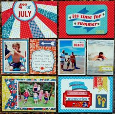 Bella Scraps's Gallery: 4th Of July - Project Life