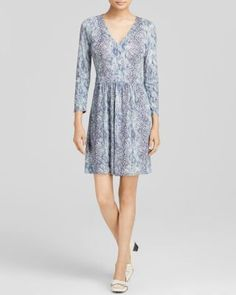 ed76f03836c92f Tory Burch Snake Print Jersey Dress Tory Burch - Women s Clothing -  Bloomingdale s