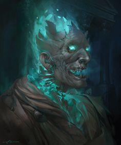 Morbid Fantasy • Hades – fantasy character concept by...