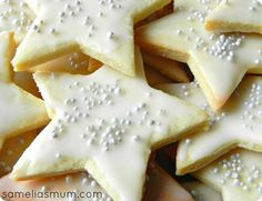 Done__ L 4th bday favors ... Star Cookies