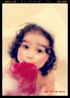 Bath time photo... Bubble fun #memories