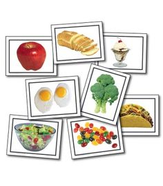 Nouns: Food Learning Cards - Carson Dellosa Publishing Education Supplies