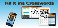Android Fill it ins Crosswords Application