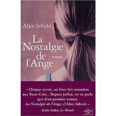 La nostalgie de l'ange par Alice Sebold