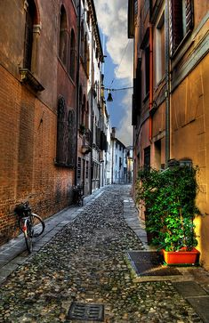 Treviso, via S. Pancrazio, Veneto, Italy  This is where my Grandmother Sementilli lived until she came to the U.S.