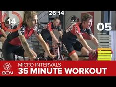 Fast Fitness Workout - High Intensity 35 Minute Indoor Cycling Training - YouTube
