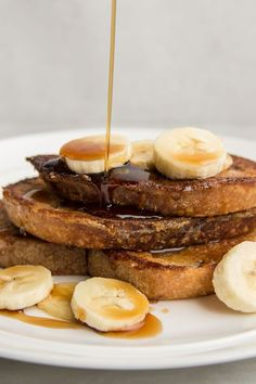 This quick and easy 45-minute vegan French toast recipe incorporates flax seeds, brown sugar, cinnamon, maple syrup, sourdough bread and sliced bananas to create the ultimate breakfast recipe. Whether you're looking to eat this vegan recipe on its own or paired with eggs, bacon or sausage, it's a great choice for a brunch recipe.#breakfastrecipes #brunchrecipes #frenchtoastrecipes #veganrecipes