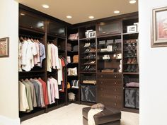 Big Closet Design Ideas    A big closet is ideal for implementing the best of storage solutions, and ridding one of the largest spaces of clutter.