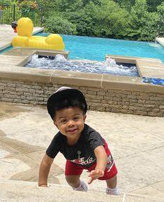 Cute Black Baby Boys, Cute Little Baby, Pretty Baby, Little Babies, Baby Kids, Lil Baby, Kids Fever, Baby Fever, Cute Mixed Babies