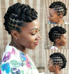 A beautiful hairspiration to brighten your timeline this morning. Natural Hair Braids, Natural Afro Hairstyles, Kids Braided Hairstyles, African Braids Hairstyles, Braids For Black Hair, Hair Threading, African Threading, Curly Hair Styles, Natural Hair Styles