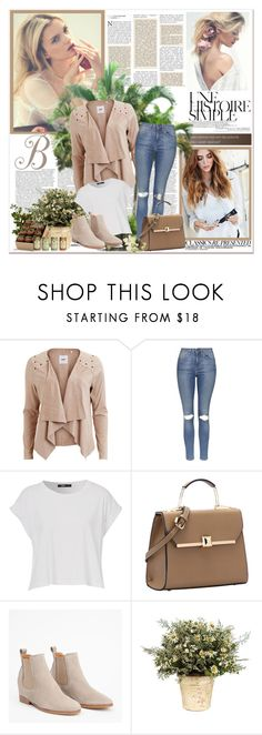 """Untitled #163"" by makethislastforever ❤ liked on Polyvore featuring Object Collectors Item, Topshop, Une, Chanel and PLANT"