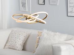 Tämä upea futuristinen kattovalaisin on täydelinen lisä moderniin ja nykyaikaiseen sisustukseen. #beliani #belianisuomi #valaistus #homedecor #futuristic Beliani, White Sink, Scentsy, Home Lighting, Frame Design, Pillows, Home Decor, Throw Pillows, Trendy Home
