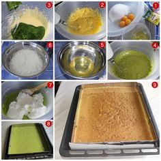 ıspanaklı kek tarifi Sheet Pan, Ice Cream, Pudding, Ethnic Recipes, Desserts, Food, Hat, Sweets, Backen
