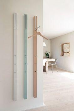 Interior Design Magazine Finalist: Line Storage Rack – Design & Trend Report Interior Design Magazine, Davis Furniture, Coat Storage, Storage Rack, Rack Design, Diy Door, Apartment Design, Small Spaces, Furniture Design