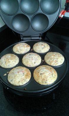 Blog da Gullo : Receitinhas salgadas pra Cupmaker (maquina de cupcake)