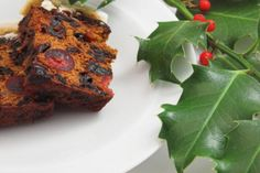 IRISH CHRISTMAS CAKE: The cake tastes best when baked 1–3 weeks ahead of time. This traditional cake is served at holiday festivities throughout December.