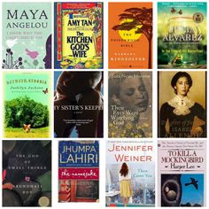 12 Inspirational and Influential Female Writers www.piperpunches.com #womensfiction #womenshistorymonth #books