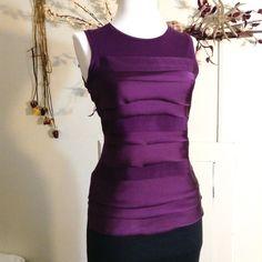 WEEKEND SALE  Ann Taylor Top Dressy purple tan blouse top                              ✨REGULAR PRICE $16✨ Ann Taylor Tops Tank Tops