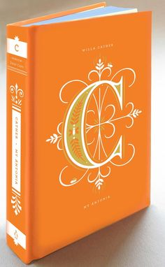 Illustrated Alphabetic Drop Cap Covers of Literary Classics by Jessica Hische | Brain Pickings