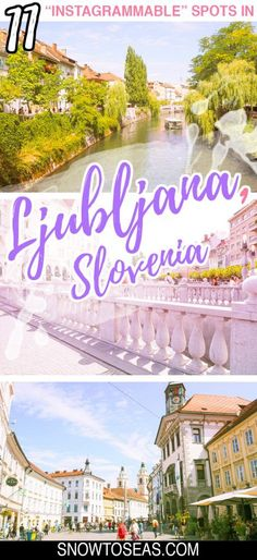 Charge your camera and get ready to check out some of the best Instagram spots in Ljubljana – spectacular views, architecture, and street art included. Backpacking Europe, Europe Travel Guide, Europe Destinations, Travel Guides, Travel Hacks, Slovenia Travel, Bohinj, Macedonia, Albania