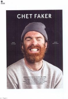 Chet Faker. Nicholas James Murphy (born 23 June 1988 in Melbourne), better known by his stage name Chet Faker, is an Australian electronica musician.