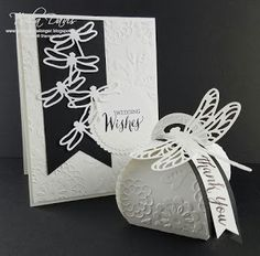 Stamp A Little Longer: Stampin Friends February Blog Hop - Black, White and Whatever You Like