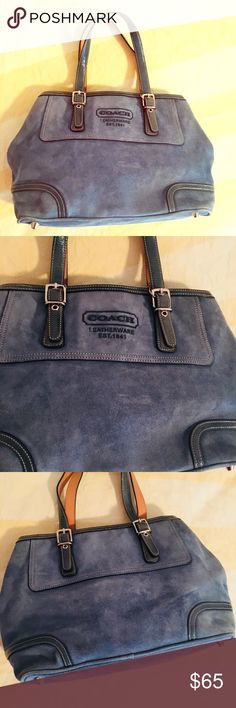 Coach Bag *FINAL SALE* Very cute and colorful bag that always makes a statement. Size 14.5 by 9 inches. Coach Bags