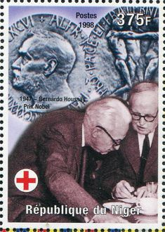 Prix Nobel, Nobel Prize Winners, Red Cross, History, Poster, Art, Medicine, Stamps, Red