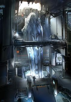 Halo 4 - Complex Mp map, sparth - nicolas bouvier
