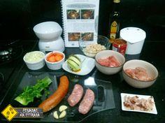 Ingredientes da culinária francesa. Foto: CFR / Blog Pegadas na Estrada