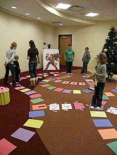 Real Life Candy Land Game!! (no link... just inspiration)