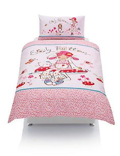 Buy the Pure Cotton Emily Button™ Bedding Set from Marks and Spencer's range. Childrens Beds, Bedding Sets, Comforters, Cotton Fabric, Colours, Blanket, Button, Stylish, Furniture