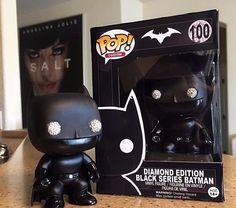 Funko Pop! Vinyl Figure Batman Diamond Series Custom Exclusive