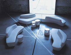 Sofá composable modular Colección Polar by Tacchini Italia Forniture | diseño PearsonLloyd