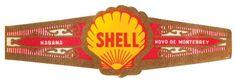 Hoyo de Monterrey, Shell Oil Cigar Band (Vintage Cuban)
