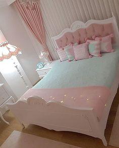 Girl Room, Bedroom Decor For Couples, Kids Bedroom Inspiration, Cute Bedroom Ideas, Bedroom Decor, Kids Bedroom Decor, Room Ideas Bedroom, Bedroom Interior, Bedroom Cupboard Designs