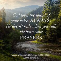 Quotes from Anxious for Nothing by Max Lucado Lds Quotes, Religious Quotes, Spiritual Quotes, Faith Quotes, Inspirational Quotes, Pastor Quotes, Motivational, In God We Trust, Faith In God