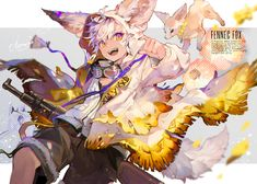 Fantasy Character Design, Character Design Inspiration, Character Art, Anime Neko, Manga Anime, Anime Art, Cute Anime Boy, Anime Guys, Creature Drawings