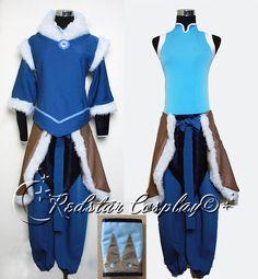 Avatar The Legend of Korra Korra Cosplay Costume - Custom made in any size. $88.00, via Etsy.